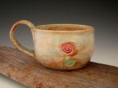 "Ceramic Mug. @designerwallace, ""dirtKicker pottery"""