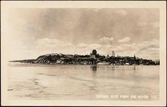 Québec vue du fleuve. Chute Montmorency, Chateau Frontenac, Le Petit Champlain, Quebec City, Hui, Levis, Images, Canada, Travel