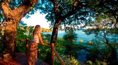 Spend three romantic nights overlooking the spectacular Zambezi River at the Sussi and Chuma luxury Lodge just outside Livingstone in Zambia Luxury Houseboats, Elephant Camp, Water Villa, Maldives Resort, Victoria Falls, Romantic Night, Mauritius, Trip Planning, The Good Place