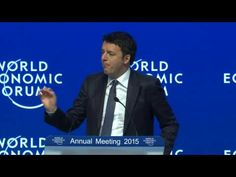 """""""For my children Italy will be an innovation lab and not a museum""""; the Sting reports live from World Economic Forum 2015 in Davos – The European Sting - Critical News & Insights on European Politics, Economy, Foreign Affairs, Business & Technology - europeansting.com"""