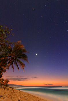 Rocky Point, Oahu, Hawaii.  I know it well.