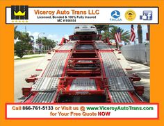 Viceroy Auto Trans LLC You Can Get a Free Auto Transport Quote @ https://www.ViceroyAutoTrans.com The AUTOTRANS411 Notebook  #ViceroyAutoTrans #AutoShippingProfessionals #FullInsuranceCoverage #TopRatedTransporter #AutoTowingRates #CarShippingExperts #AutoTransportLife #NationwideAutoShipping #AutomotiveHaulingServices #AutoShipper #TheAUTOTRANS411Notebook