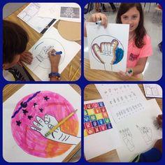 Mrs. Knight's Smartest Artists: September in the art room, all grades