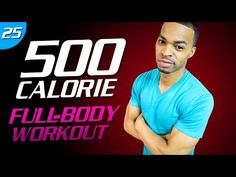 35 Min. Body Fat BESERKER!!! Workout | 500 Calorie HIIT MAX Day 25 - YouTube