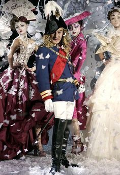 Les Incroyables, John Galliano's Graduation Collection. Central ...