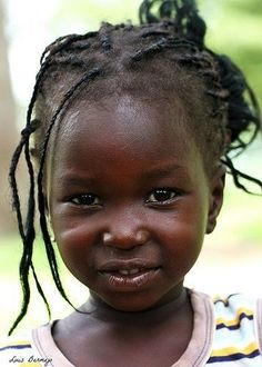 Senegal. - Beautiful Child  IMAGES, GIF, ANIMATED GIF, WALLPAPER, STICKER FOR WHATSAPP & FACEBOOK