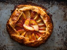 Freeform Peach Pie (Galette) Recipe