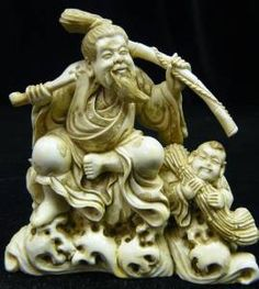 CHINESE IVORY CARVING | Ivory Carvings, Mammoth Ivory Tusk Carvings From China 1