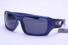 Oakley Holbrook Sunglasses Blue Frame Black Lens 0574