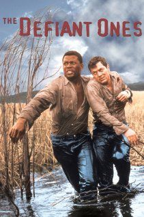 The Defiant Ones (1958) - Sidney Poitier and Tony Curtis