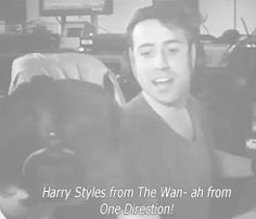 (gif) HAHAHAHHA! harry from the wan - ah from One Direction (part 1)