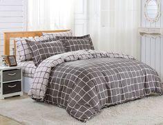 Dolce Mela 6pc Duvet Cover FULL QUEEN Bedding Sheet Set Moscow Pattern  #DolceMela