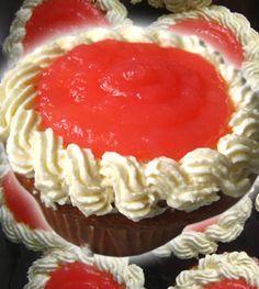 Guava Cream Cheese cupcakes
