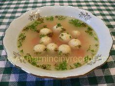 Sýrové knedlíčky do polévky – Maminčiny recepty