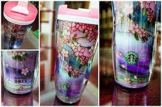 Japan limited edition Starbucks sakura tumbler 2011...I wanted this one ㅠㅠ