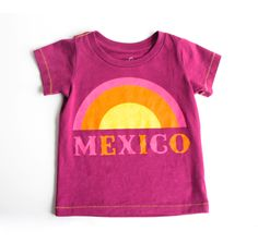 Baby Mexico Tee - View All - Shop - baby girls | Peek Kids Clothing