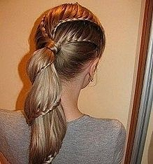 Unexpected Ways To Braid Your Hair hair-beauty-peinados-y-moda My Hairstyle, Pretty Hairstyles, Amazing Hairstyles, Wedding Hairstyles, Plait Hairstyles, School Hairstyles, Latest Hairstyles, Hairstyle Tutorials, Unique Hairstyles