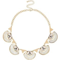 River Island Pink shell pendant necklace (14 BHD) ❤ liked on Polyvore featuring jewelry, necklaces, pink, women, shell necklace, shell pendant, pink pendant, seashell necklace and chain necklaces