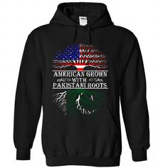 American Grown with Pakistani Roots T Shirts, Hoodies. Get it here ==► https://www.sunfrog.com/States/American-Grown-with-Pakistani-Roots-6475-Black-35607625-Hoodie.html?41382 $39.95