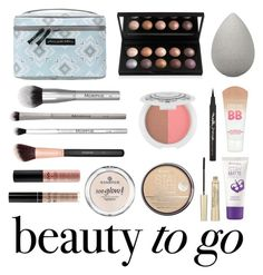 """Beauty to go"" by neirak ❤ liked on Polyvore featuring beauty, Maybelline, Rimmel, NYX, L'Oréal Paris, beautyblender, Petunia Pickle Bottom, Morphe, Essence and travelbeauty"
