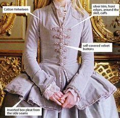 American Duchess:Historical Costuming: Costume Analytics: Marie Antoinette's Dove Grey Riding Habit | Historical Costuming and sewing of Rococo 18th century clothing, 16th century through 20th century, by designer Lauren Reeser