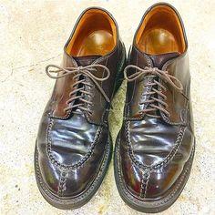 2016/11/07 18:34:18 pluson_shoe_supply_official ALDEN  norwegian front / modified last from  back in 1990's  #plusonshoesupply #shoes #workboot #vintage #basic #スニーカー #cordovan #usa #classic #work #革靴 #プラソンシューサプライ #alden #oxford #kicks #ファッション #ootd #シューズ #コーデ #コードバン #1990s #burgandy #オールデン #fashion #shoestagram #mensshoes #アメリカ #ビンテージ