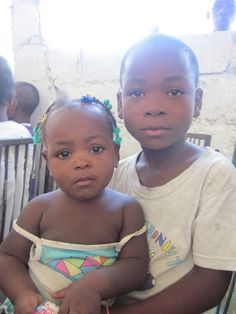 I will always love fashion, food, traveling and decorating, but spending time in Haiti shows you what it is in life that truly holds the most value. Adorable brother and sister. I love them.