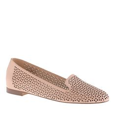 Cleo perforated loafers - loafers & oxfords - Women's shoes - J.Crew