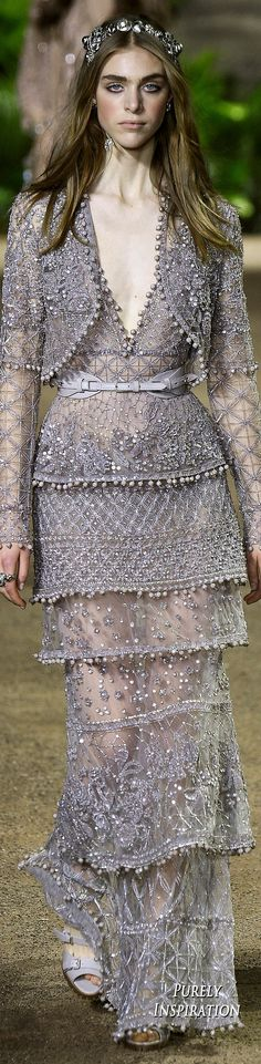 Elie Saab Spring Haute Couture   Purely Inspiration