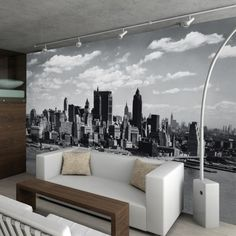 1Wall Carta da parati Manhattan Skyline Lovepromo
