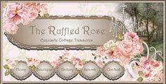 The Ruffled Rose, Romantic Cottage and Shabby Cottage Style for your home.