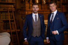 Another option is to put the groomsmen in a contrasting tweed waistcoat with complementing ties. Wedding Suit Hire, Rustic Wedding Groomsmen, Wedding Arbor Rustic, Rustic Wedding Colors, Rustic Wedding Dresses, Wedding Men, Wedding Trends, Wedding Ideas, Barn Wedding Inspiration