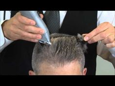 How To Cut A Flat Top Haircut - YouTube