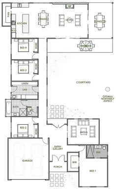 The Elara offers the very best in energy efficient home design from Green Homes Australia. Take a look at the floor plan here.