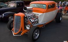 1933 Ford 3-Window Hot Rod Coupe - Blown Hemi