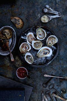 Oysters / Image via: Iain Bagwell  #scottish