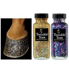 Twinkle Toes Hoof Polish. Humane and creative, what more can you ask for?
