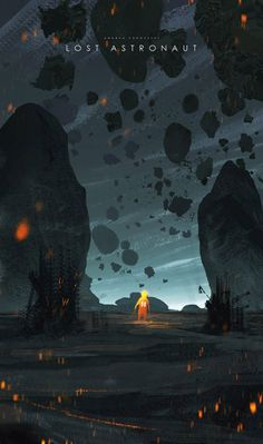 Lost Astronaut by Andrea Koroveshi