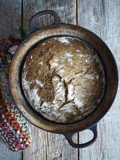 Eltefritt byggbrød med linfrø - Mat Pa Bordet
