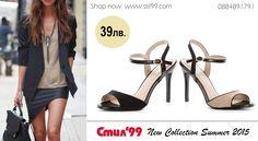 Неустоими предложения от Стил 99! Елегантни дамски сандали от лак и велур на неустоима цена от 39лв. www.stil99.com