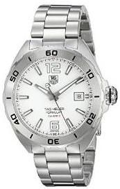 #MensStyle #Watches TAG Heuer Men's WAZ2114.BA0875 Analog Display Automatic Self Wind Silver Watch