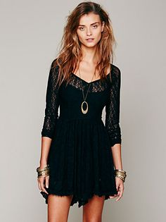 Free People To the Point Fit & Flare at Free People Clothing Boutique