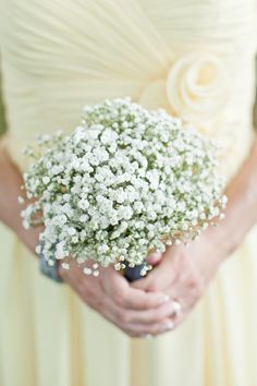 babys breath! Finally its getting the recognition it deserves! So delicate and so simple and romantic when not used with a carnation  in a budvase at 7/11