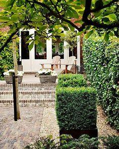 Ideeen voor de tuin on pinterest tuin buxus and pergolas - Tuin ideeen ...