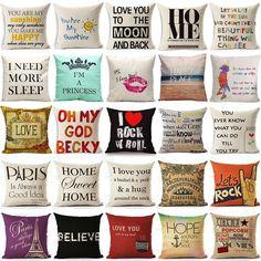 Various Cushion Covers