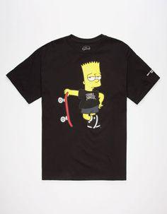 331d35a377e94a NEFF x The Simpsons Too Cool Mens T-Shirt Teen Boys