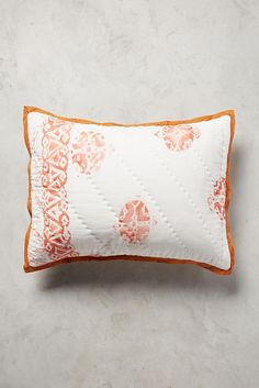 Anthropologie Trulli Hothouse Collection 2 standard Shams - NWT #Anthropologie