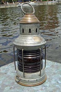 Nautical Lamp Shades, Nautical Lanterns, Old Lanterns, Nautical Theme, Marine Lighting, Dock Lighting, Antique Hurricane Lamps, Light Crafts, Vintage Lamps