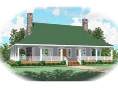 rustic house plans with wrap around porches | Copyright by designer/architect Drawings and photos may vary ...