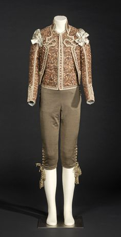 Men's ensemble, late 18th century - early 19th century, Spanish.